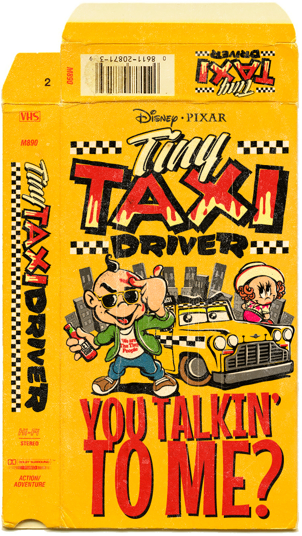 Butcher Billy. Disney/Pixar's Tiny Taxi Driver