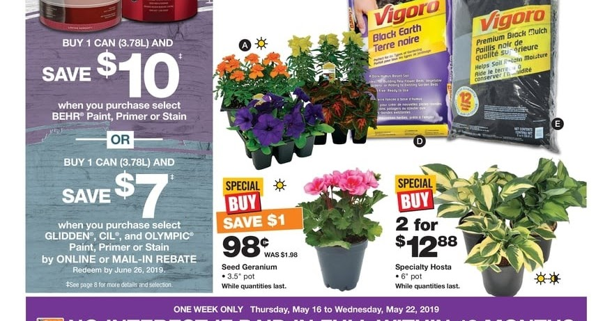 Home Depot Flyer August 16 - 22, 2019 - Weekly Flyers Ontario