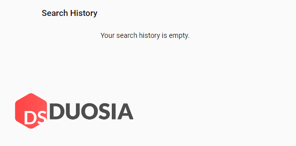 membersihkan riwayat pencarian youtube