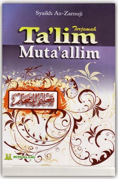 Terjemah Ta'lim Muta'alim : terjemah, ta'lim, muta'alim, Terjemah, Ta'lim, Muta'allim