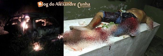 Em Coelho Neto, cigano tem perna e braço arrancados em acidente, população se revolta e ateia fogo em veículo.