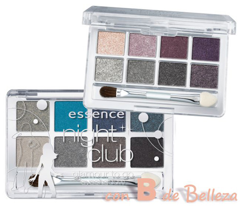Night club Glamour to go palette