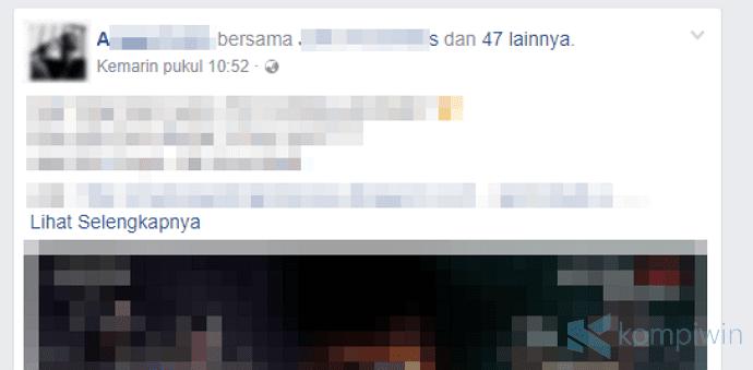 cara agar teman facebook tidak bisa tag kita lagi