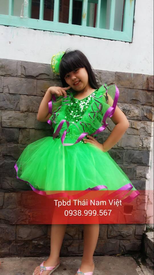Chuyên may bán và cho thuê trang phục váy múa trẻ em giá mềm