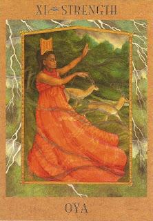 Goddess Tarot   Oyá