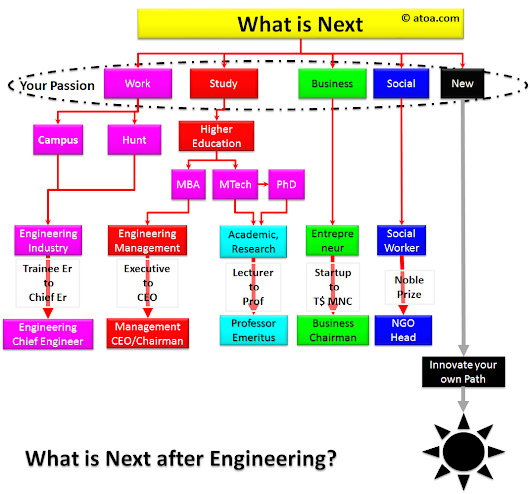 What is NEXT after Engineering?