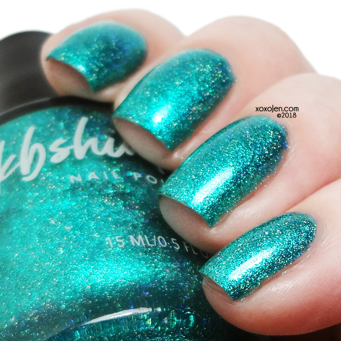 xoxoJen's swatch of KBShimmer Sweater Weather