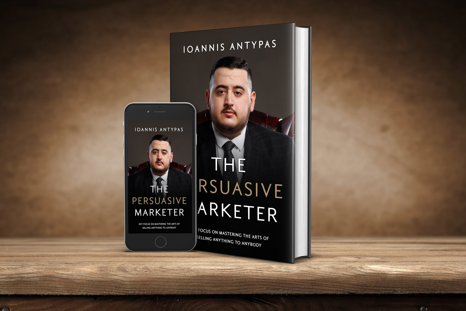 THE PERSUASIVE MARKETER- BUY NOW ON AMAZON
