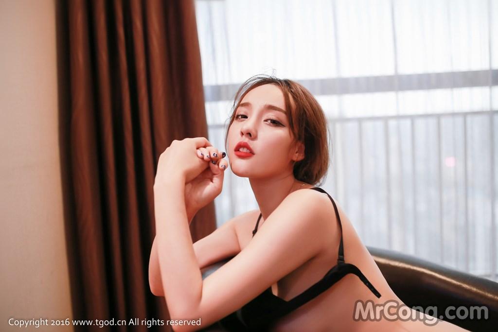 Image MrCong.com-TGOD-2016-07-22-Zhan-Ni-Hua-021 in post TGOD 2016-07-22: Người mẫu Zhan Ni Hua (珍妮花) (40 ảnh)