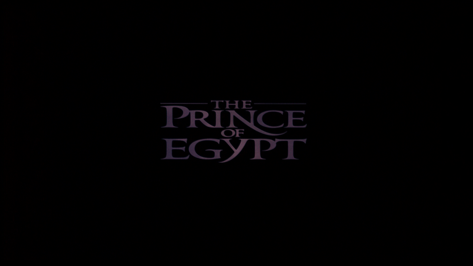 The Big Movie House: Screenshot Saturday: Prince of Egypt