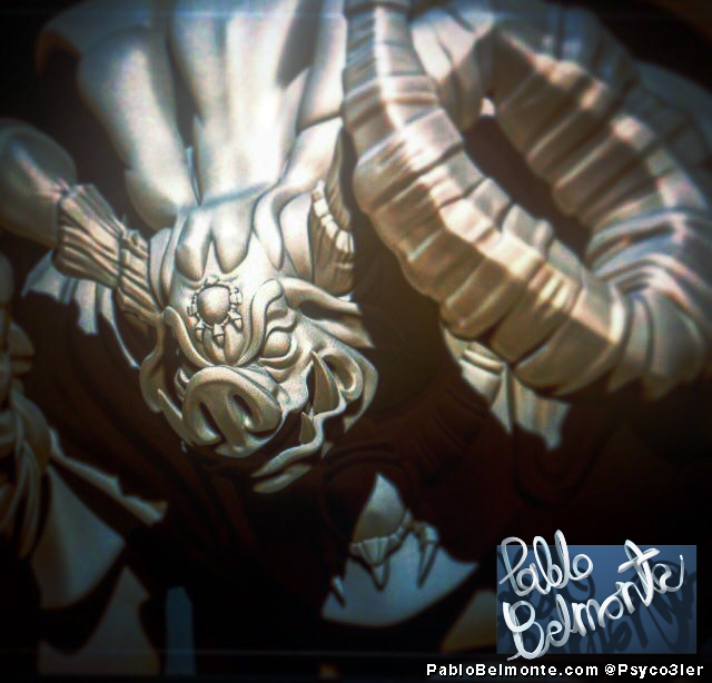 Pablo Belmonte Psyco3ler Zelda Ocarina of time Ganon