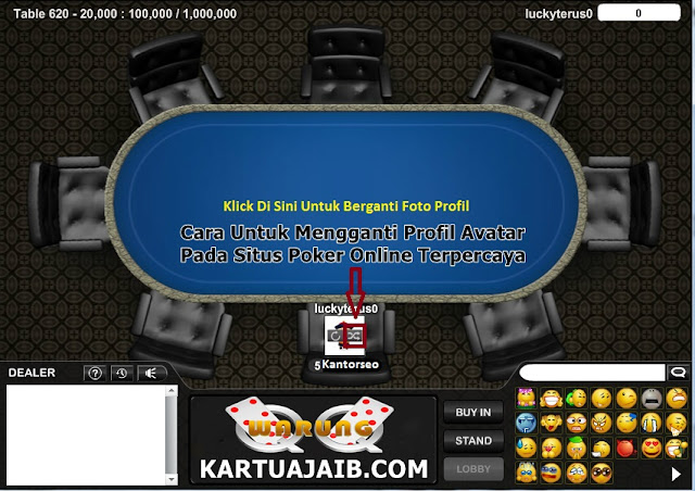 Cara Untuk Ganti Avatar Di Akun Poker online Terpercaya Dan Teraman