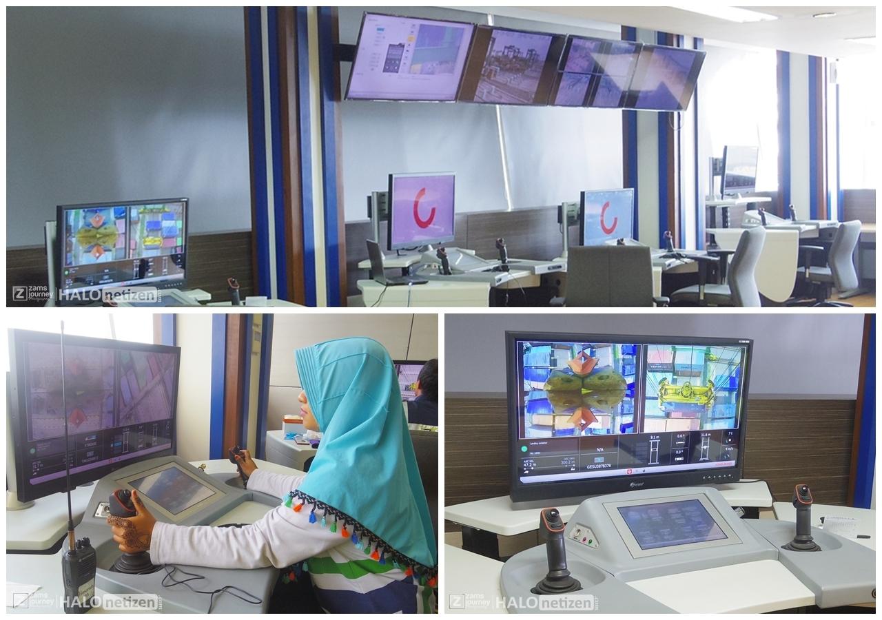 Ruang Operator ASC Terminal Teluk Lamong