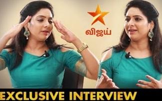 Actress Syamantha Kiran Interview | Kalyanam Mudhal Kadhal VaraiSerial Suganya