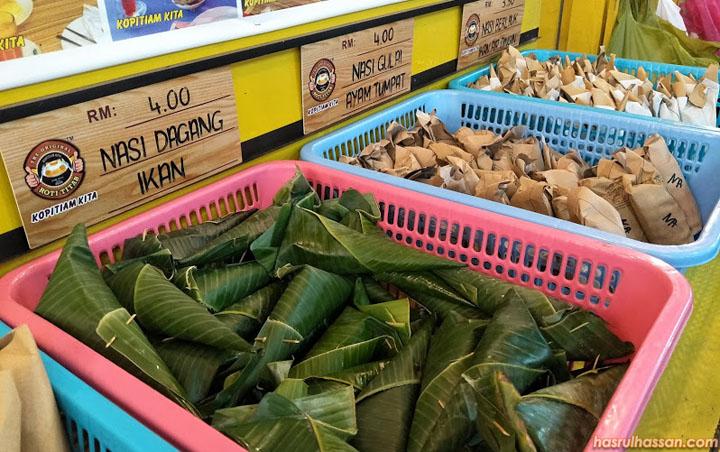 Menu menarik di Kopitiam Kita Kota Bharu, Kelantan