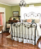 Restored iron bed