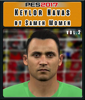 PES 2017 Faces Keylor Navas by Sameh Momen
