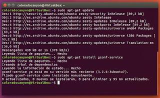 gconf-serrvice y Linux Ubuntu
