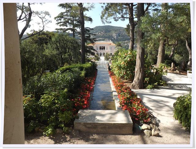 Villa Rothschild, cap Ferrat, jardin, beatrice