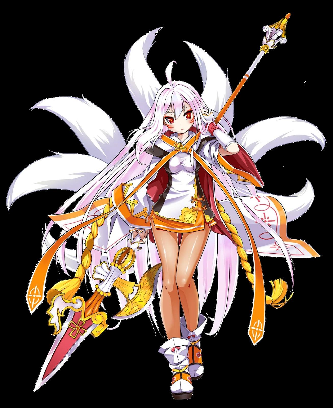 KamiNoBeniMizu Online Games: Elsword Ara Sakra Devanam (帝天)