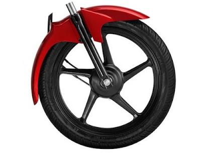 Yamaha Saluto 125cc front wheel