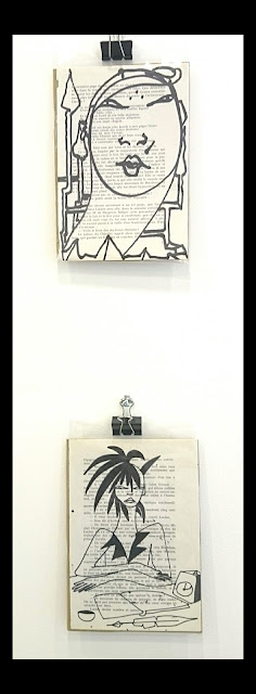 """""""des Illusions"""" série DESSINS par AZa ... *) alias AGNESetlesNUAGES photo@Ruddy Candillon"""