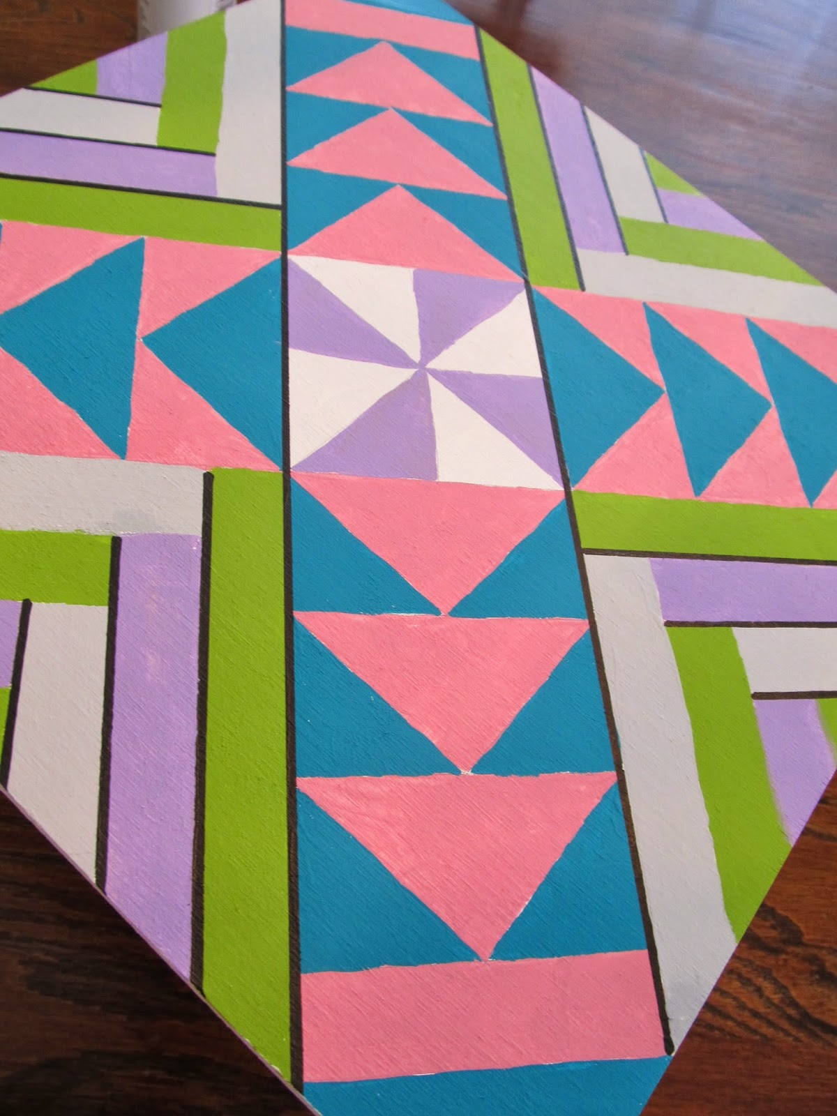 The Quilt Ladies Tutorial How To Paint A Barn Quilt