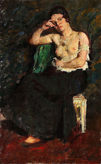 Julius Paulsen: Donna seminuda
