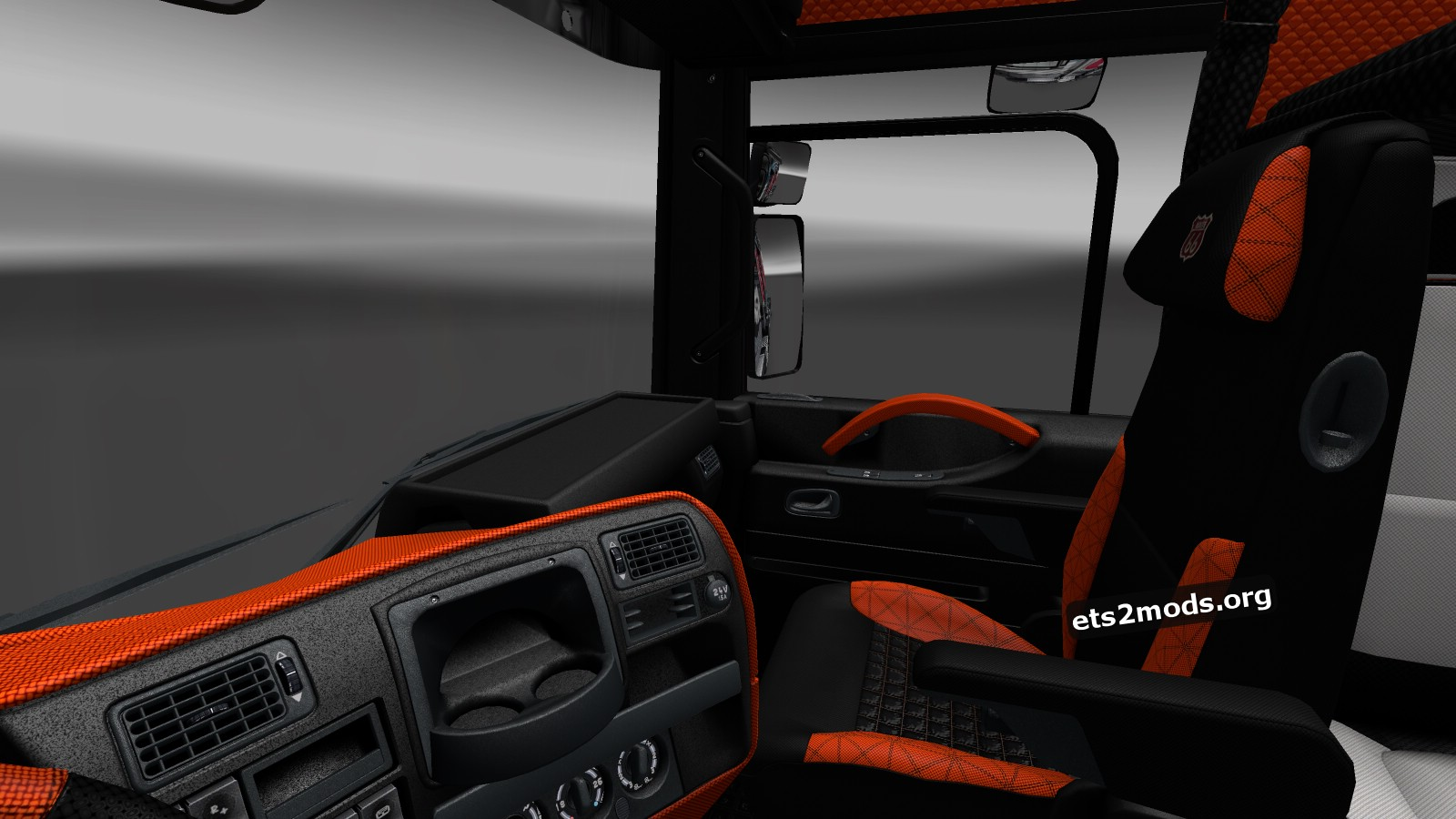 Renault Magnum Interior by Darken-B