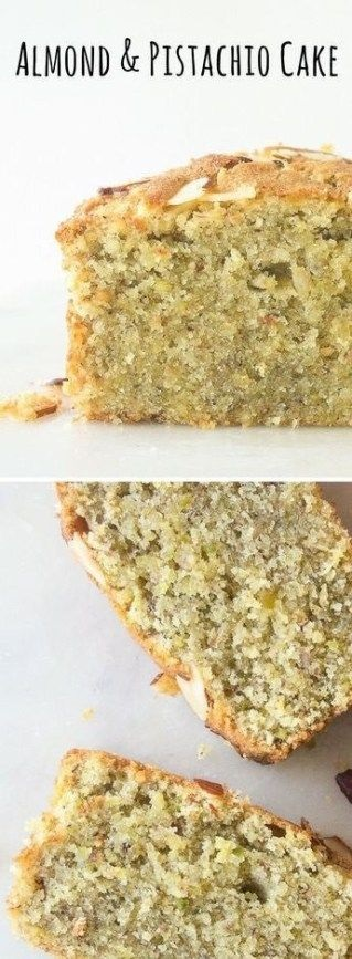 Almond & Pistachio Cake