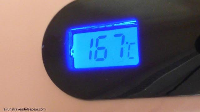 temperatura cepillo alisador