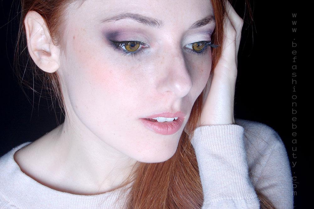 Maquillaje para ojos miel. Paso a paso.