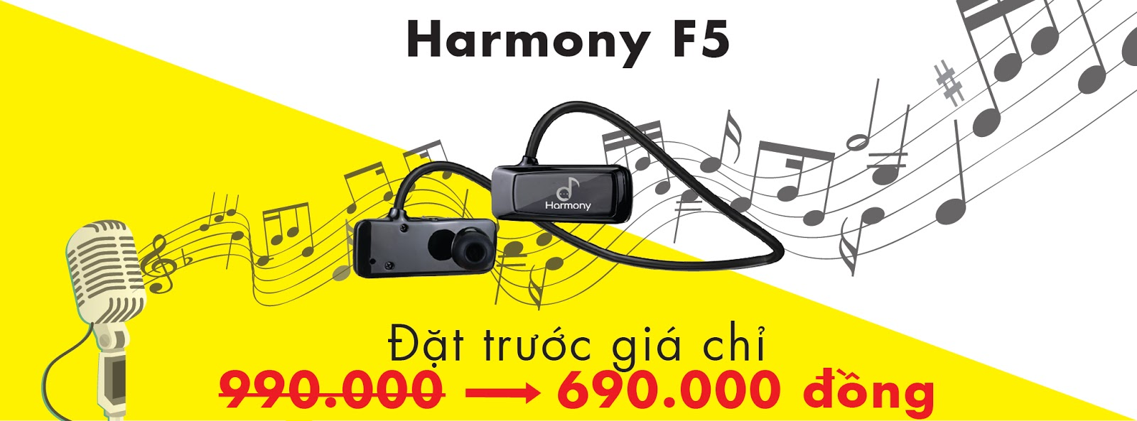 Tai nghe bluetooth Harmony F5