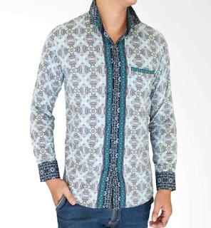 baju batik cowok variasi