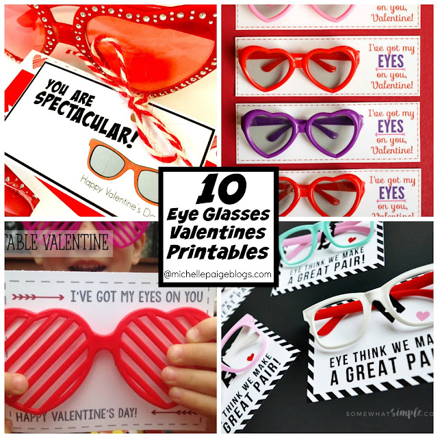 DIY Glasses Valentines @michellepaigeblogs.com