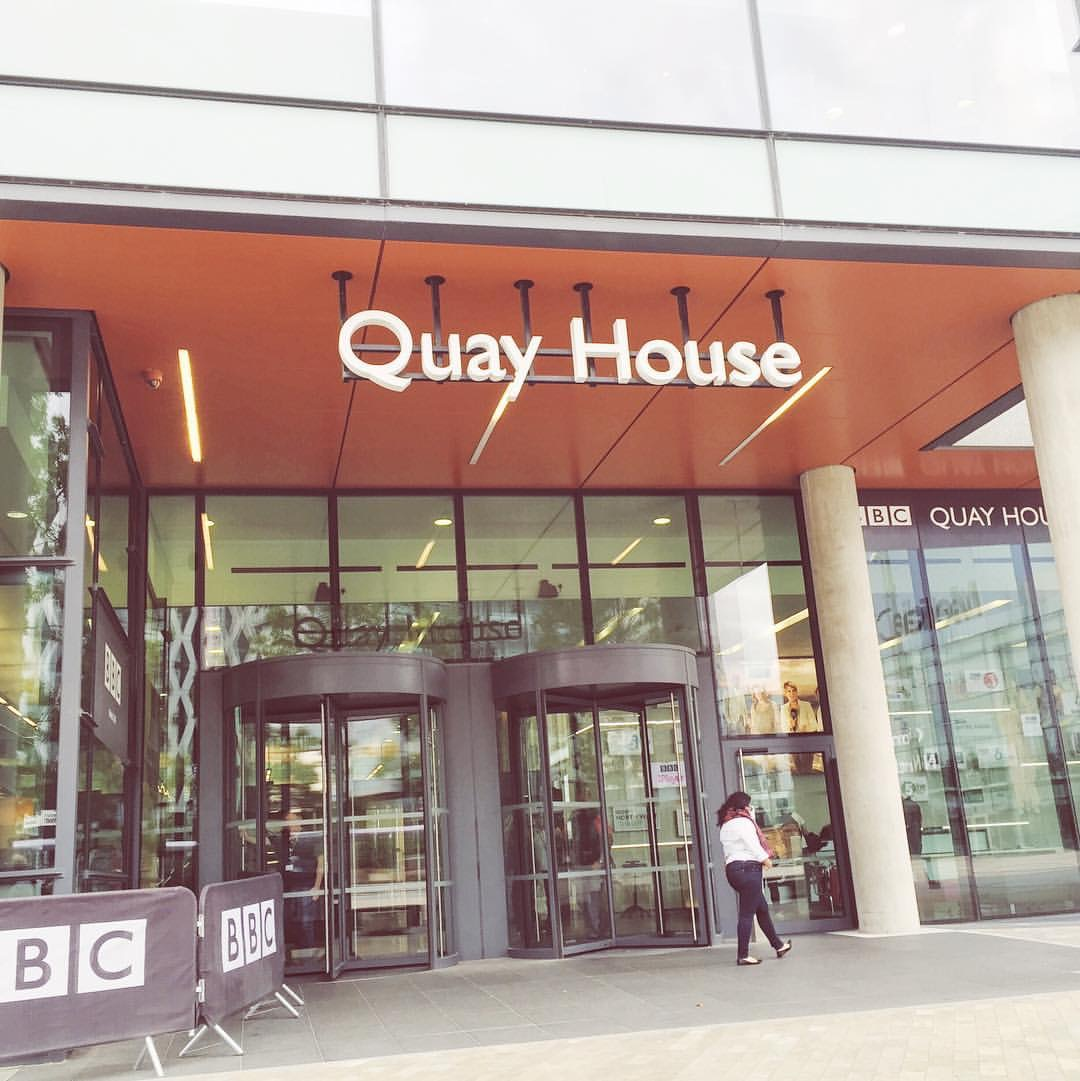 BBC Quay House, BBC Manchester, BBC Radio 5 live, Katie Writes,
