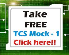 TCS free mock Test
