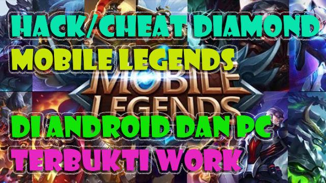 update cara hack/cheat diamond mobile legends root dan
