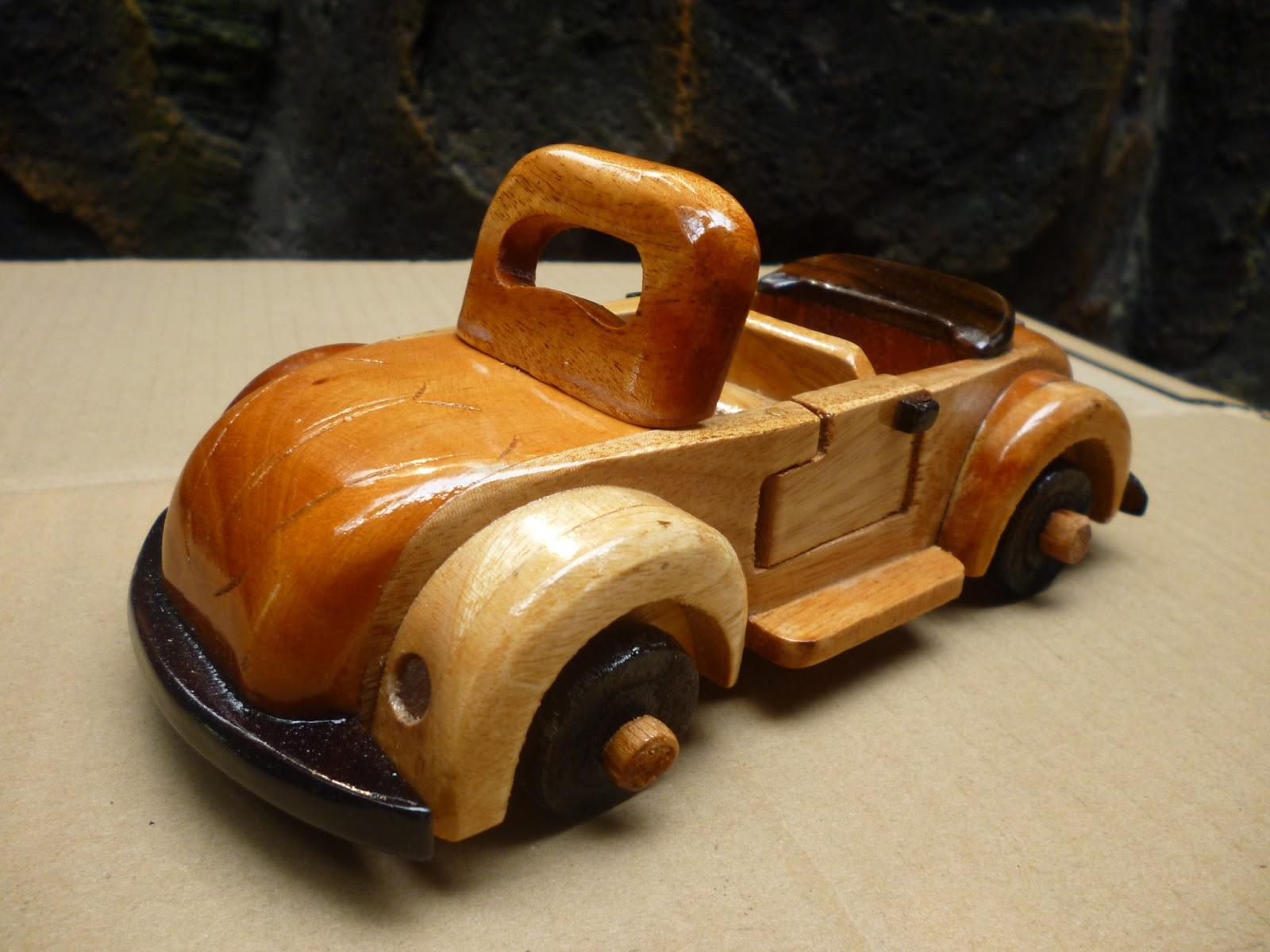 Produk Kerajinan Kayu Antik Miniatur Vw