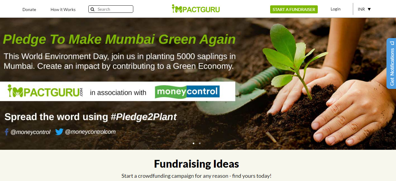 The potential for crowdfunding is immense in India' - Piyush