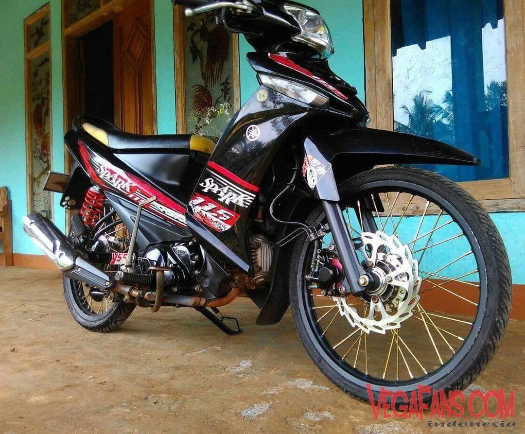 99 Foto Modifikasi Motor Vega Zr Hitam Terbaik Kuroko Motor