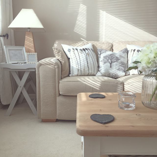 Neutral interiors lounge living room
