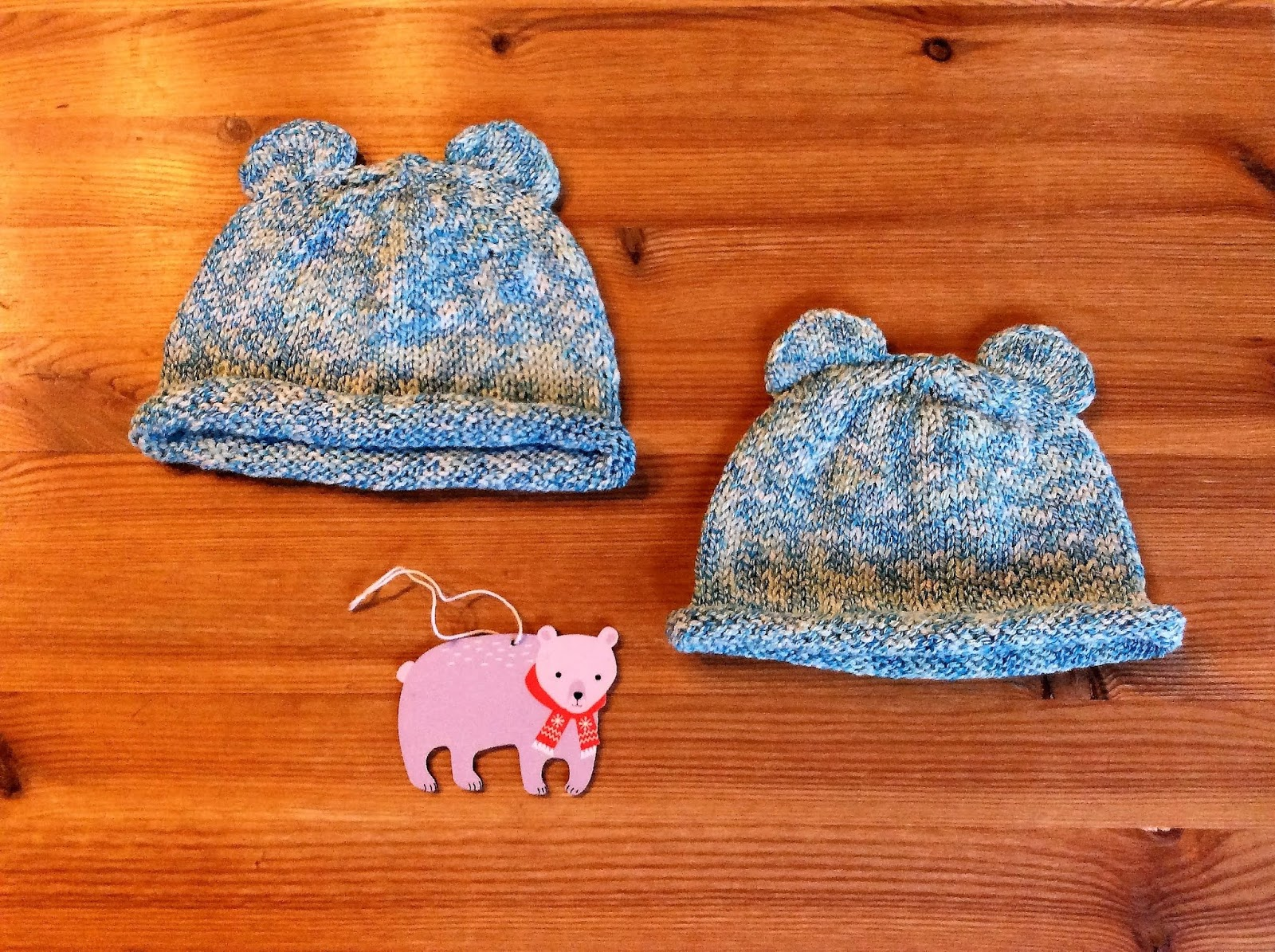 82f92003686 Itty bitty bear cubs. What an adorable pattern! You can find it (it s free!)  here on ravelry. I very much enjoyed knitting these baby hats for 2  friends  ...
