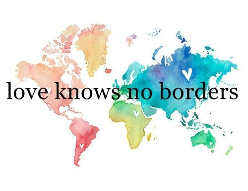 love knows no borders