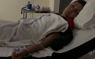 Simona Halep hospitalised with dehydration