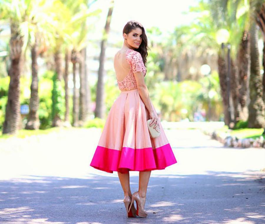 Saia midi: peça-chave no estilo Lady Like