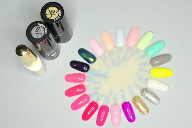 Kolorowe paznokcie nr 18. Semilac + Indigo by Natalia Siwiec.