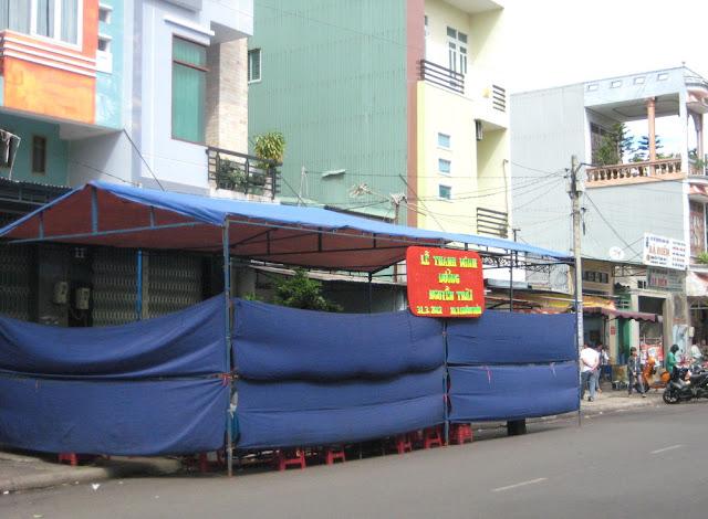 Cúng thanh minh đường phố 3