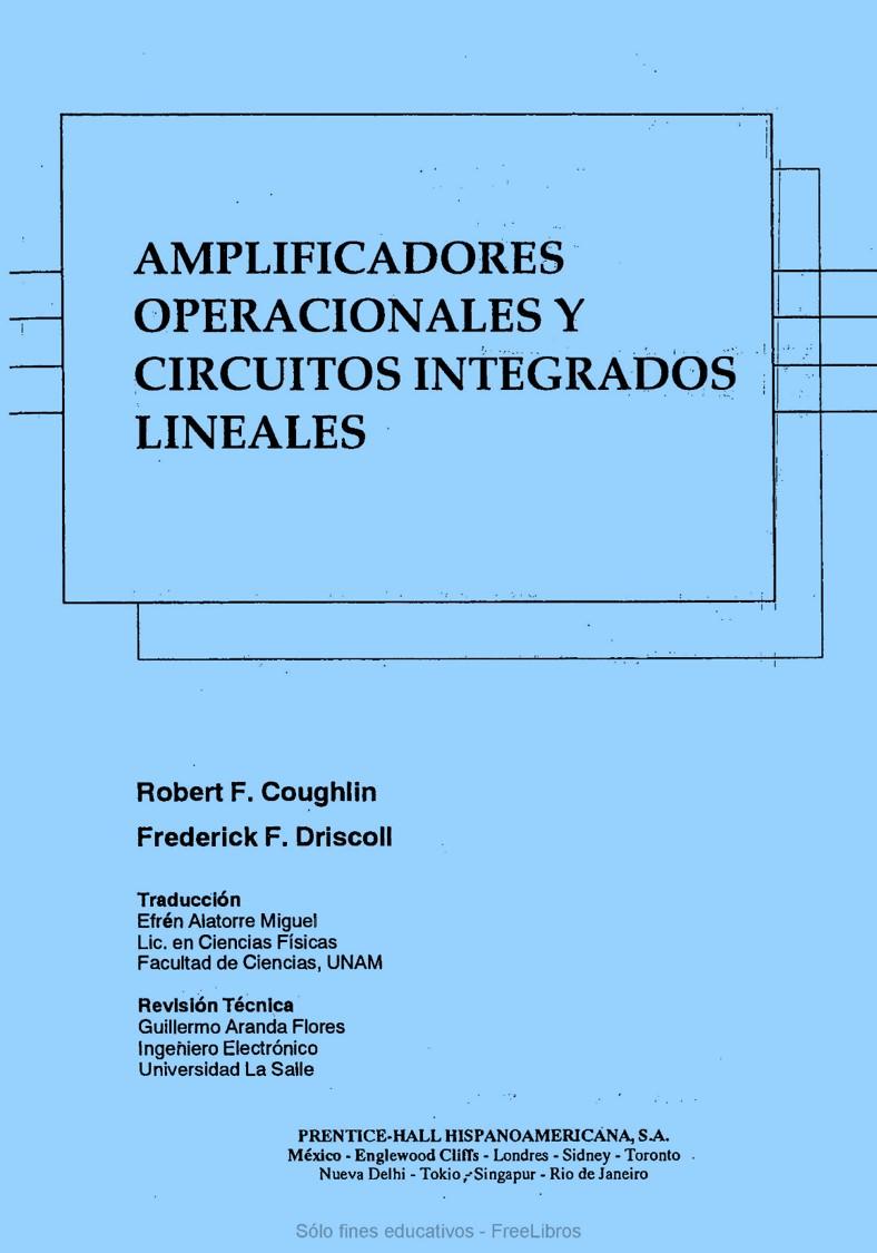 Circuito Lineal : Amplificadores operacionales y circuitos integrados lineales