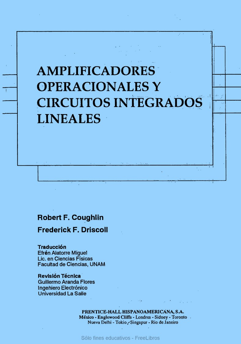 Amplificadores operacionales y circuitos integrados lineales – Robert F. Coughlin